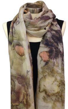 A personal favorite from my Etsy shop https://www.etsy.com/il-en/listing/248231280/design-silk-scarf-botanical-dye-eco