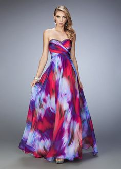 2016 Beautiful Multicolored Strapless Prom Dress By La Femme [La Femme 22414 Multi] – £123 : Cheap Custom Prom Dresses Uk,Discount Bridesmaid Dresses,Special Occasion Dresses Online Shop,Homecoming Dresses 2015 For Girls,Alisa Dresses Designer,Shoes & Summer Dress : Ailsadresses.co.uk