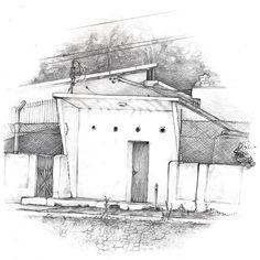 Elias Maroso. Desenho. Ano de 2010.