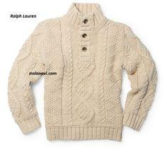 Детский свитер спицами | Вяжем с Лана Ви