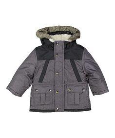 Scotch /& Soda Colour-Block Padded Jacket with Hood Giacca Bambino