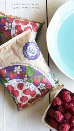 Paleo Raspberry Cobbler // agirlworthsaving.net // #paleo #desssert #primal #cobbler #glutenfree