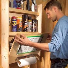 Storing and Organizing Car Care Products