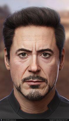 Tony Stark by Yuditya Afandi - Marvel Universe