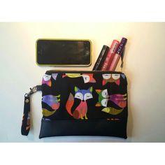 Zipper pouch fox #zipperpouch #handmadebySerena #diy Etsy shop : HandmadebySerena