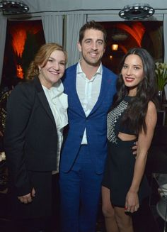 Aaron Rodgers and Olivia Munn at Young Hollywood -- The NFL offseason is a dreadful time, but not if you're Green Bay Packers quarterback Aaron Rodgers. He goes to all the cool parties with Olivia Munn. Here he is at Young Hollywood.