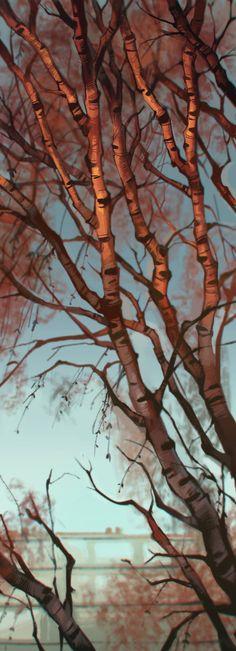 winter Art Print by Loish
