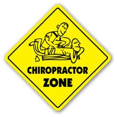 CHIROPRACTOR ZONE Sign xing gift holistic back crack treament traction -- Learn more by visiting the image link.
