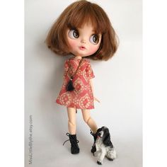 OOAK Custom Blythe Doll fake - Chiara. di MissLittleBlythe su Etsy