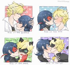 Kiss meme + the Punnett square (yes I'm calling them that)