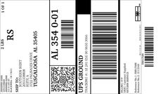 UPS Electronic Return Label: View/Print Label