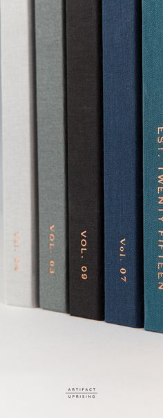 Say hello to the new @artifactuprsng Layflat Photo Album. Choose from 11 fabric colors, pick your title and see it come to life with hand-foil-stamping on the cover and spine.