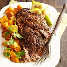 Italian Pork with Sweet Potatoes From Better Homes and Gardens, ideas and improvement projects for your home and garden plus recipes and entertaining ideas.