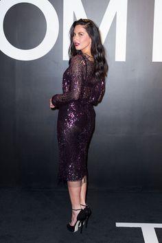 Olivia Munn in Tom Ford   - HarpersBAZAAR.com