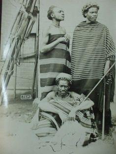 Photographie ancienne Madagascar chef des baras antsantsa d'ivohibe 1900