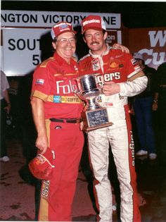 This brings back great memories - Tim Richmond wins at Darlington 8.31.1986 giving Mr. Hendrick his 10th Cup win.