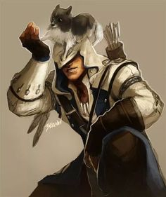 Connor Kenway- Assassin's Creed 3 Assassin's Creed I, Creed Game, Assassins Creed Series, All Assassins, Leap Of Faith, Game Character, Ps4, Ac Fan, Videogames