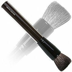 Kevyn Aucoin Brush - Super Soft Buff Powder 1 piece by Kevyn Aucoin. $46.00. Long, sturdy, gorgeous acrylic handle. Kevyn Aucoin - Super Soft Buff Powder Brush. Medium-sized, flat brush. Soft hairs - Ideal for blush or bronzer application. This medium-sized, flat brush is ideal for applying blush and blending your entire look for a natural finish. Super soft hairs and a long, sturdy handle make using and enjoying this brush a breeze. Simply shake of excess powder and apply y...