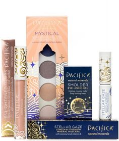 Clean makeup, pretty colors!   http://hellodollface.com/2013/08/review-pacifica-beauty/
