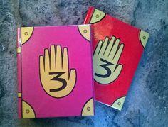 Gravity Falls - Libro 3 REPLICA v2.0 + Pluma de tinta invisible