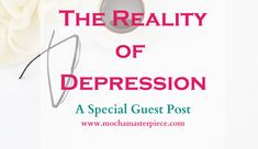 Today's #MeMonday post touches on a topic that is very close to my heart: depression. I battled with depression after becoming a teenage mom and being thrust into an unknown world years ago. I didn't recognize it as depression; I just knew I didn't want to participate in normal activities