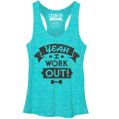 Women's - I Work Out CHIN UP T-Shirt