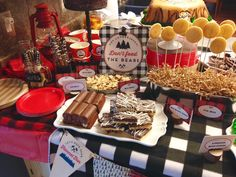 Lumberjack Outdoor Theme Birthday Party
