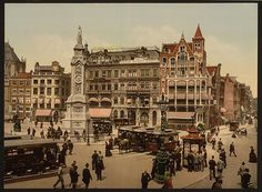 Old black and white photographs of Amsterdam 1890-1900 digitalised by the Library of Congress. Click on the photo and find more of these amazing pictures!