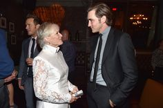 """Lee Pace Photos - Actors Glenn Close and Lee Pace attend the after party for The World Premiere of Marvel's epic space adventure """"Guardians of the Galaxy,"""" directed by James Gunn and presented in Dolby 3D and Dolby Atmos at the Dolby Theatre. July 21, 2014 Hollywood, CA - 'Guardians of the Galaxy' Afterparty in Hollywood"""