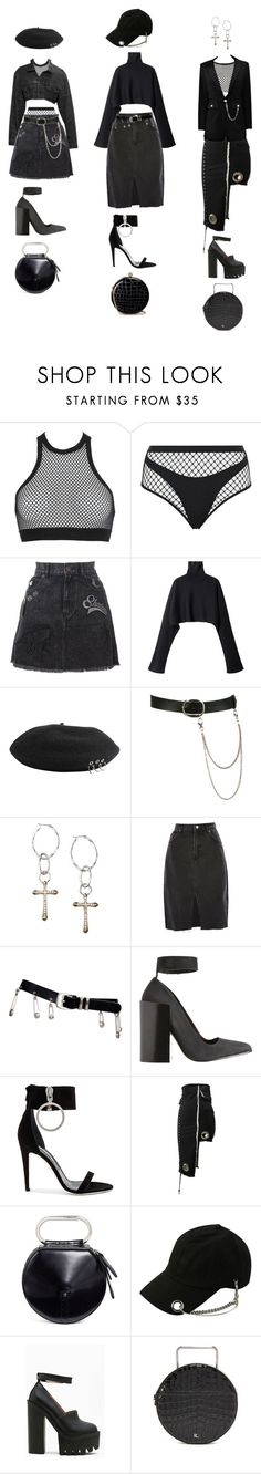 """""""Untitled #1260"""" by jayda-xx ❤ liked on Polyvore featuring Dsquared2, Agent Provocateur, Marc Jacobs, Wet Seal, Lucky Brand, Topshop, Versace, Acne Studios, Off-White and 3.1 Phillip Lim"""