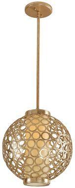 Corbett Bangle Gold Tone 12-Inch-W Pendant - Euro Style Lighting