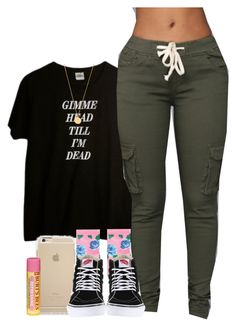 """"""""""" by mxnvt ❤ liked on Polyvore featuring HOT SOX, Vans and Kate Spade"""