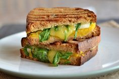 PUMPKIN GRILLED CHEESE WITH APPLES AND CHEDDAR http://kitchen-tested.com/2013/10/10/pumpkin-grilled-cheese-with-apples-and-cheddar/