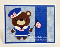 ~ Marilyn's Cricut Cards ~: Teddy Bear Parade - Sailor
