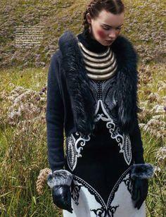 Harpers Bazaar Indonésia Setembro 2014   Kseniya Shapovalova por Nicole P. Malina