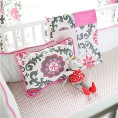 New Arrivals Crib Bedding Ragamuffin Pink