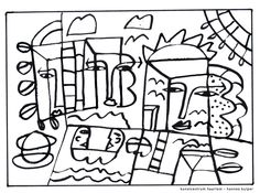 Picasso Pablo Picasso, Picasso Art, Artist Project, Coloring For Kids, Colouring Pages, Art Education, Art Pictures, Art History, Line Art