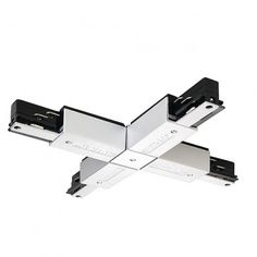 EUTRAC X-Verbinder, silbergrau / LED24-LED Shop