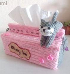 28 Porta Tissues ¡para comérselos! Crochet Wreath, Vintage Crockery, Lana, Free Crochet, Coin Purse, Crochet Patterns, Blanket, Amigurumi Doll, Crochet Ideas