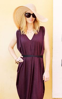 Beth from @bethanimalprint  is looking fabulous in purplemaroon's Ribbon Tie Dress.  Read about its versatility here: http://purplemaroon.com/blogs/news/36202756-a-signature-wardrobe-staple #purplemaroon #SFstyle #RibbonTie #Signaturelook
