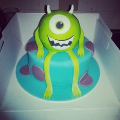 Monsters inc birthday cake party ideas Pinterest Monster inc