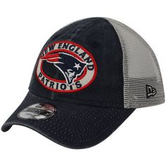8991b7263 Toddler New England Patriots New Era Navy Patched Pride 9TWENTY Snapback  Adjustable Hat