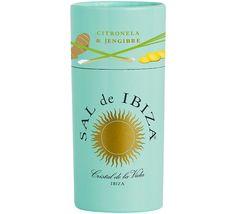 The colorful Granito-family *** CITRONELA Y JENGIBRE  ***  Granito with Lemongrass and Ginger (100g)  ***  @ saldeibiza.com *** www.facebook.com/... #SALdeIBIZA, #IconicProduct, #CoolestSeaSaltInTheWorld, #Packaging, #IconicDesign, #SeaSaltPourer, #Lemongrass, #Ginger, #CristalDeLaVida
