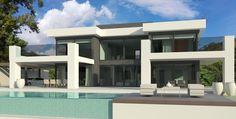 modern turnkey villa in Marbella by Norwegian builder