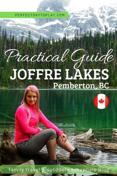 Joffre Lakes trail: ultimate practical guide full of tips to visiting Joffre Lakes Provincial Park - one of the most EPIC hikes on bucket-list for BC Canada Travel Usa, Travel Tips, Travel Destinations, Travel Guides, Alberta Canada, Montreal, Vancouver Vacation, Joffre Lake, Toronto