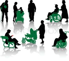 Handicapped and recovering people