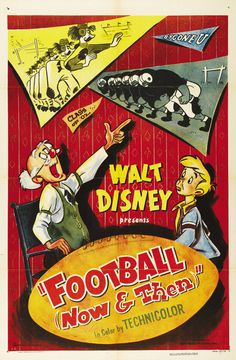 Both Fremont football players, they would later be hired by Walt Disney in 1930 to work at the Walt Disney Studio on Hyperion Avenue. Classic Disney Movies, Disney Pixar Movies, Classic Movie Posters, Classic Cartoons, Cartoon Movies, Disney Wiki, Jim Henson, Disney Posters, Disney Cartoons