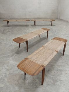 Handcrafted Modernist Furniture from India – Phantom Hands Rattan Furniture, Home Furniture, Modern Furniture, Four Hands Furniture, Outdoor Furniture Design, Modern Daybed, Modern Bench, Indian Furniture, Bench Designs