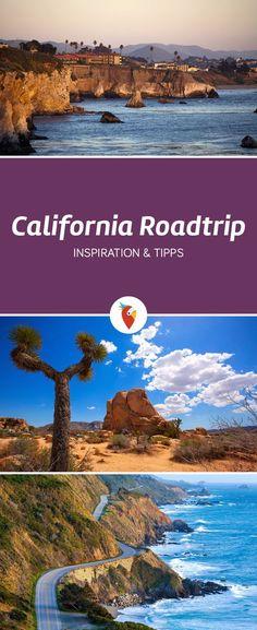 Endlose, lebensfeindliche Wüsten, unwirklich schöne Landschaften, glitzernde Metropolen wie aus dem Film, einzigartige Naturwunder und Einwohner die freundlicher nicht sein könnten - alle Infos zur Rundreise durch Kalifornien gibt es unter Urlaubspiraten.de