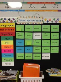 A Year of WBT in a Third Grade Class: Updated Super Improver pictures